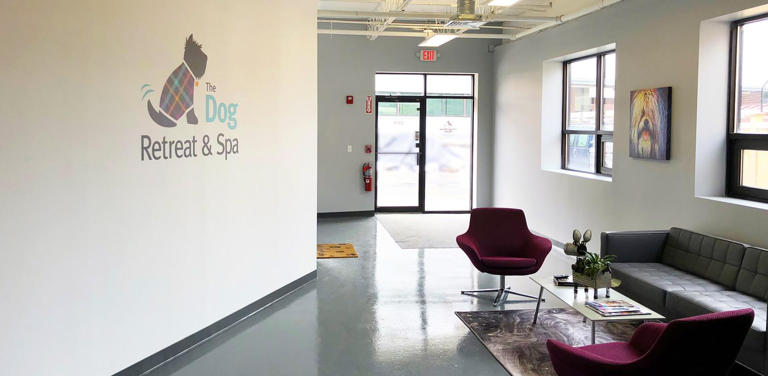 The Lobby of The Dog Retreat & Spa